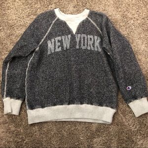 Vintage VTG champion sweatshirt NEW YORK medium